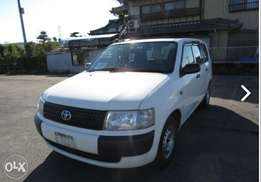 Toyota probox-van 2012 low mileage, finance terms accepted