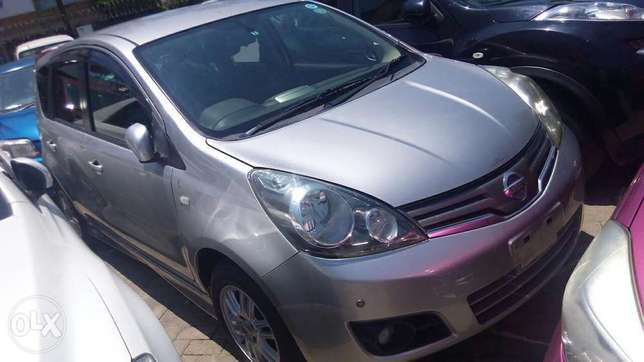 Nissan note silver colour fully loaded kcn Mombasa Island - image 1
