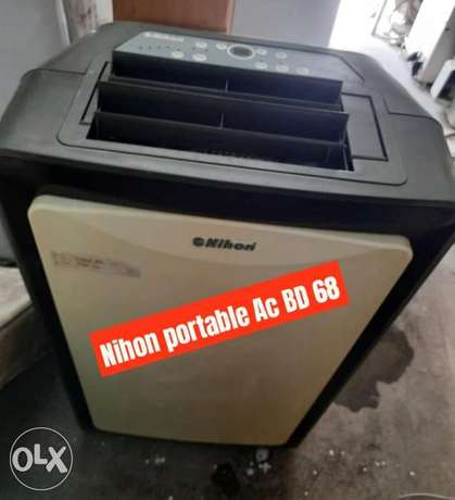 Nihon portable Ac in good condition and working with fixing