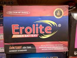 Motor Battery: Erolite Power Battery.