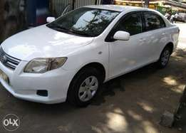 Toyota Axio Available for Hire/Lease