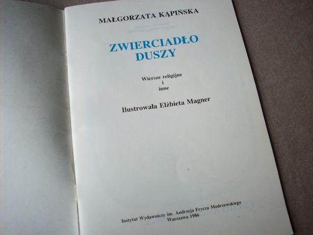 Zwierciadło Duszy M Kąpińska 1986 Wiersze Religijne I