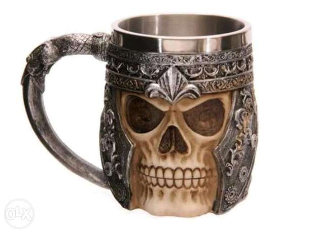 Skull stainless steel cup