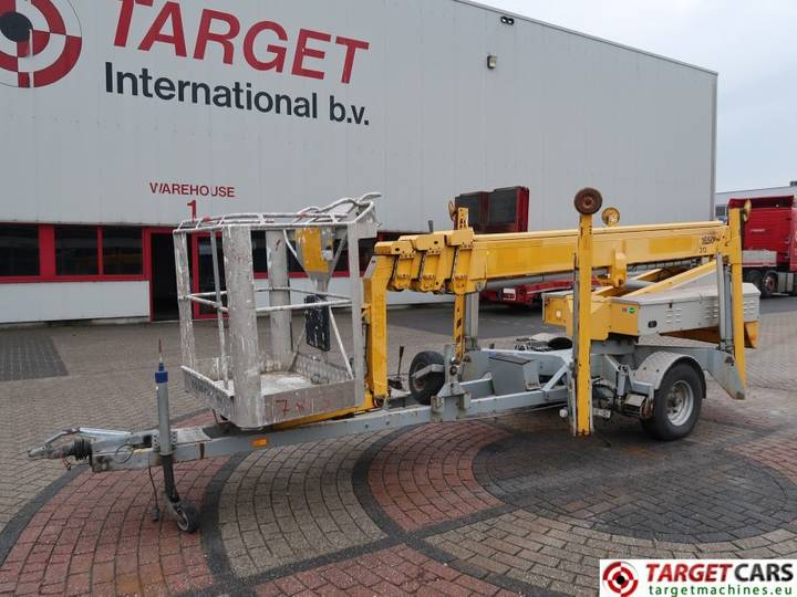 Omme 1650EBZ Telescopic Trailered Boom Lift 1650cm - 2006