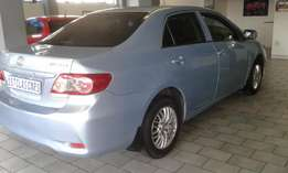 2012 Toyota Corolla 1.3 Professional ,excellent condition and clean