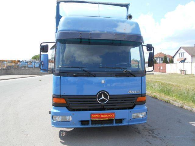Mercedes-Benz Atego 823(ID10749)+trailer Panav - 2004