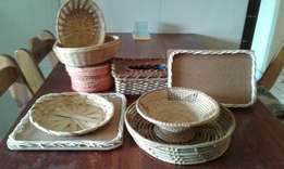 Price drop Assorted baskets all for R 125