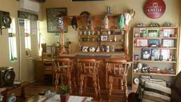 Solid wood Bar for sale