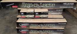 LED Bars Baja-x-Lights Led double row straight, curved CREE LED