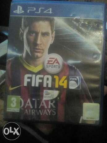 Fifa 2014 playstaion 4 CD.