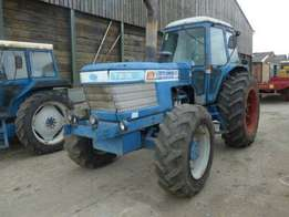 Ford TW35 4WD 182 Hp Tractor With Q Cab