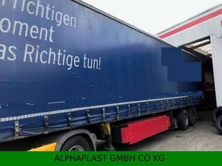 Schmitz Cargobull S01 Plane Vario Hubdach - 2012