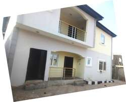 Lovely Newly built 3 bedroom flat all round tiles floor pop at Baruwa