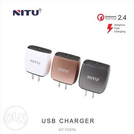 NITU - Charger Reliable Security 2 USB NT-TC076