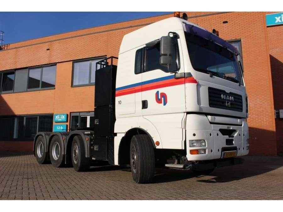 MAN Tga 41.530 8x4 /4 Bls - Nl Truck - Ual - Big Axles - 2006