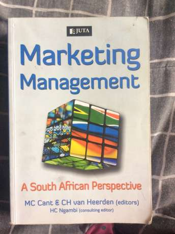 marketing management a south African perspective Juta MC Cant Tongaat - image 1