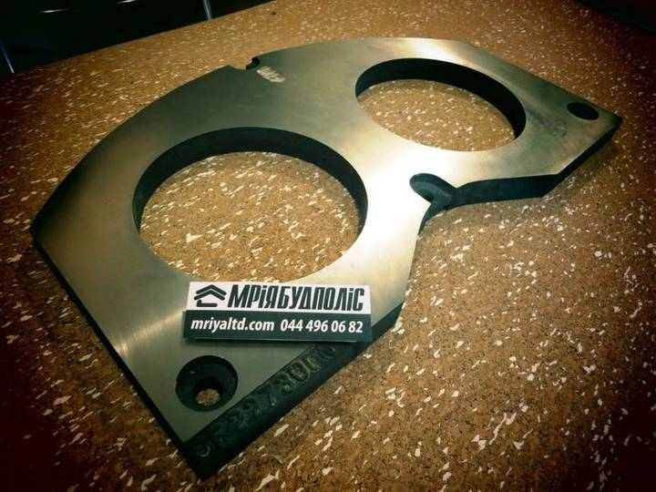 Cifa new spectacle wear plate for  concrete pump - 2018