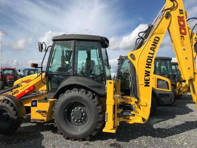 New Holland B100c Sss - 2018 - image 3