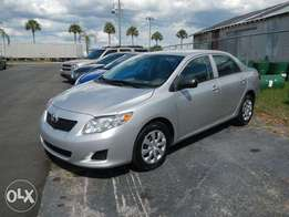 Toyota Corolla 2010 foreign used