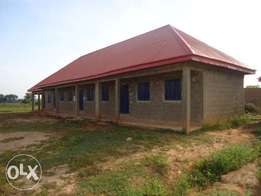 Partially completed school structure for sale. Can be modified as pls
