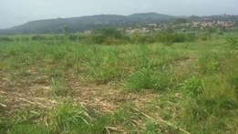 3 commercial acres of land in namugongo at 1bn