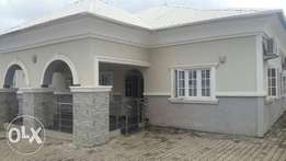For sale a wonderful 4 bedroom bungalow at kings town estate