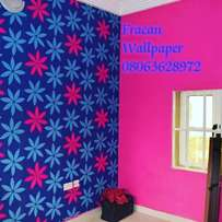 Affordable wall papers. Call fracan Wallpaper Ltd Abuja