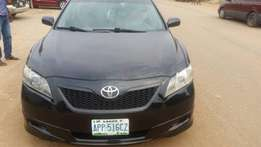 Very Clean Toyota Camry 2008 Model Black For Sale.