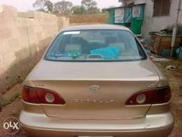 Toyota corolla (small but mighty) 2001 model Automatic, No AC