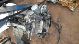Polo vivo 1.4 engine spare block cracked due to accident