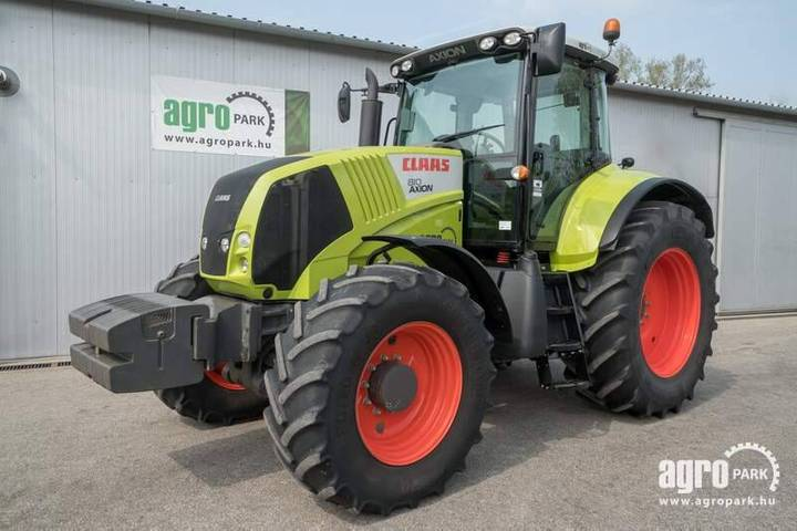 Claas Axion 810 (4228 Hours) Hexashift 24/24 Powershift - 2012