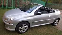 2005 Peugeot 206cc Convertible FSH accident free Roof works 100%
