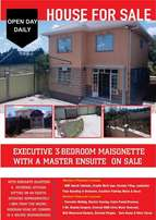 Executive 3 Bedroom Masionette, Ngong