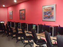 Cyber cafe maintainance