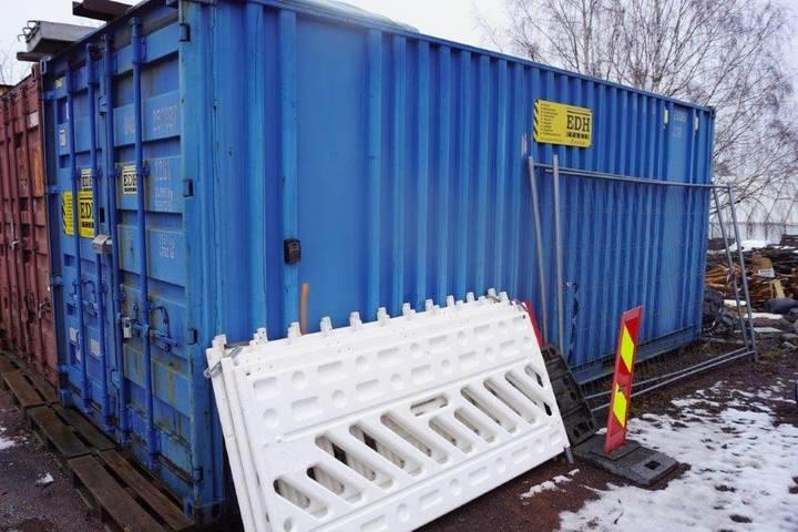20 Fot Container Lys Og Strøm - 2000
