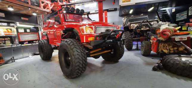 Crawler 1/10 vrx brand with winch and light full metal link and remote