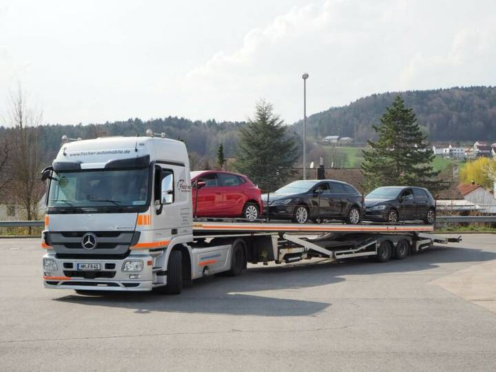 Rolfo auriga f sattelauflieger pkw-transporter - 2012