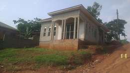 4bedroom 2toilets shell house in Kira at 90M