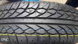 205/65R15 brand new jet tyres made in India with rotational grips.