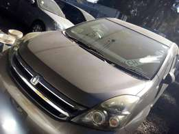 Toyota Isis, 1800cc petrol, year 2009, beige colour, 7seater
