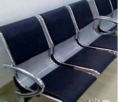 High quality Leather 3 in 1 Reception. Chair