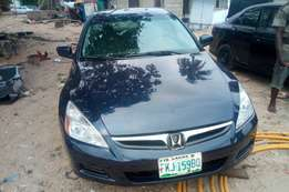 Clean register 07 Honda accord