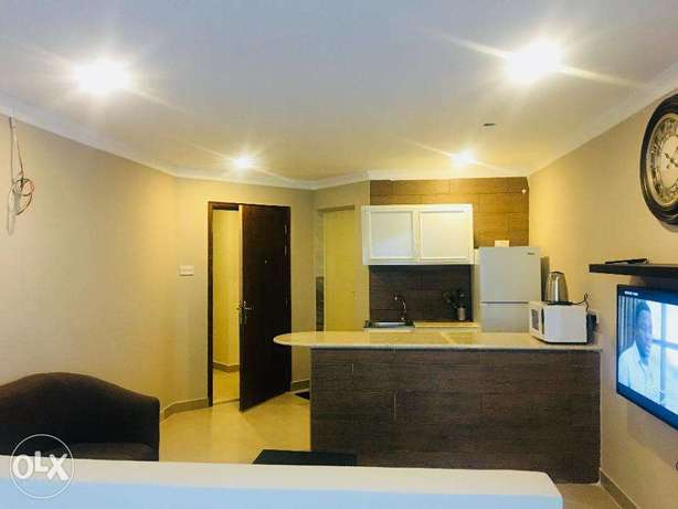 Furnished & Serviced Studio Apartment
