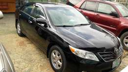 Black super neat toyota camry 2008 model