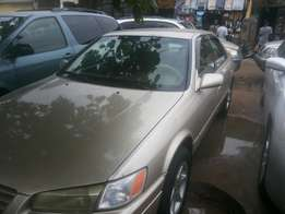 Neatly used and registered Toyota camry for sale.