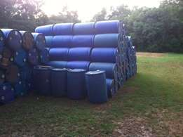 1000 Liters Flow Bins/ 210 Plastic Drums Available