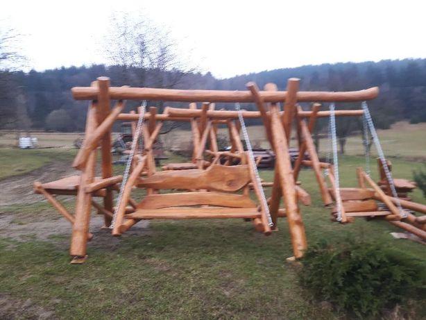 Huśtawka Ogrodowa Plac Zabawmeble Ogrodowehamakławy