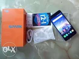 Brand New sealed Tecno spark Plus K9 16GB, in a shop, free cover