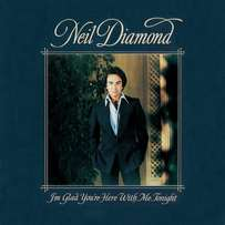Neil Diamond I'm glad you're here with me tonight LP