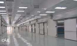 Industrial Cold-Room of 350,000 tons on 2.5 acres with C of O